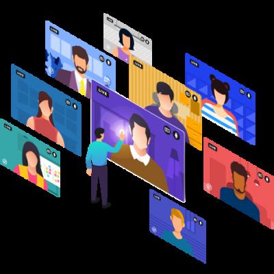 Online-Konferenz